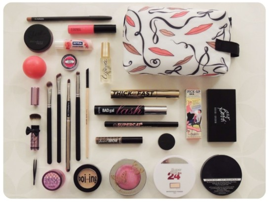 """What is in my makeup bag?"" Blogger Tag"