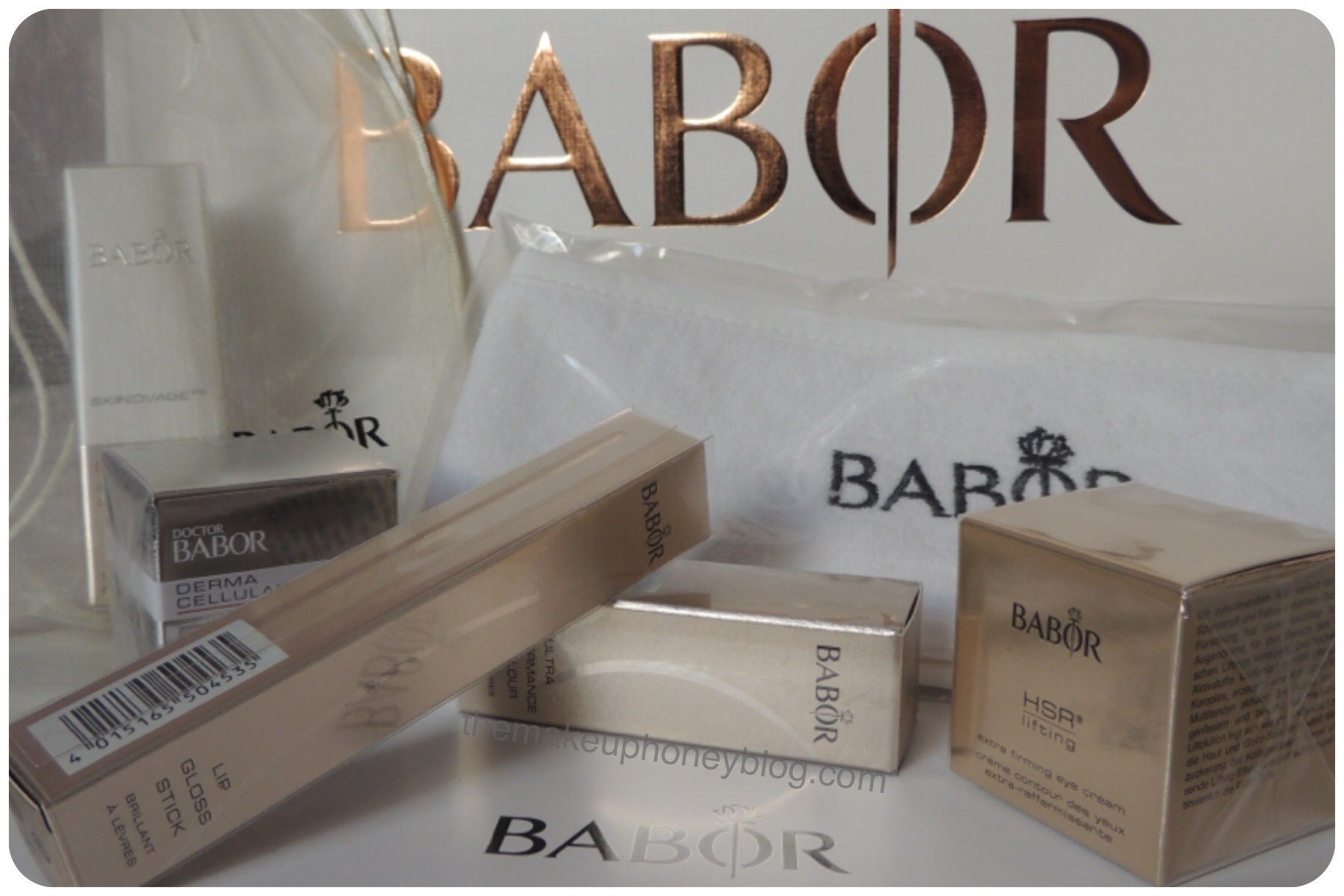 ... samples and other such nonsense that we never use because the quantity is minute. I have to say I was really impressed with the Babor goodie bag.